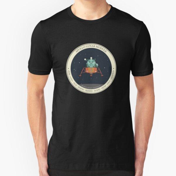 APOLLO LUNAR MODULE Slim Fit T-Shirt