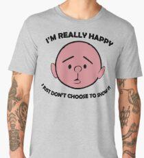 Karl Pilkington Quote, Happy Men's Premium T-Shirt