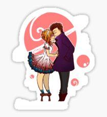 stuck in love Sticker