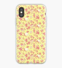 Dogs In Sweaters (Yellow) iPhone Case