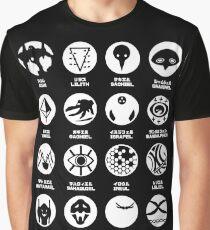 Evangelion Angels Graphic T-Shirt