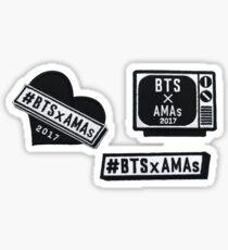 BTSXAMA Badges Sticker