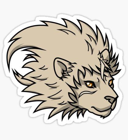 Spirit Guide - Lion Sticker
