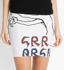 grr...argh with colour Mini Skirt