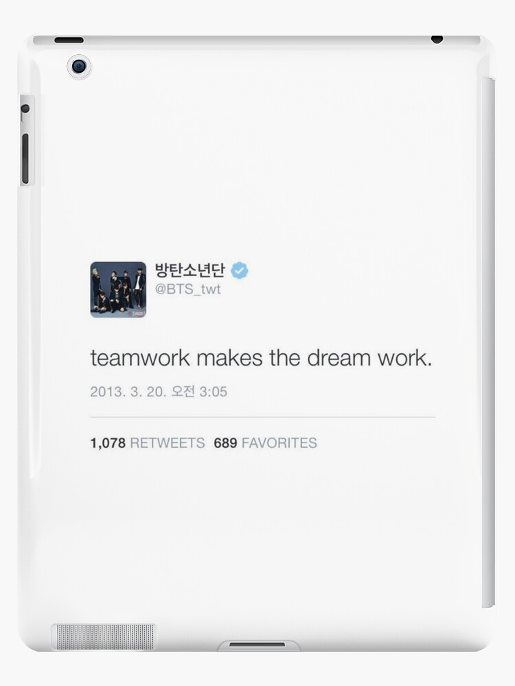 bts inspiring quote ipad case skin by elf redbubble