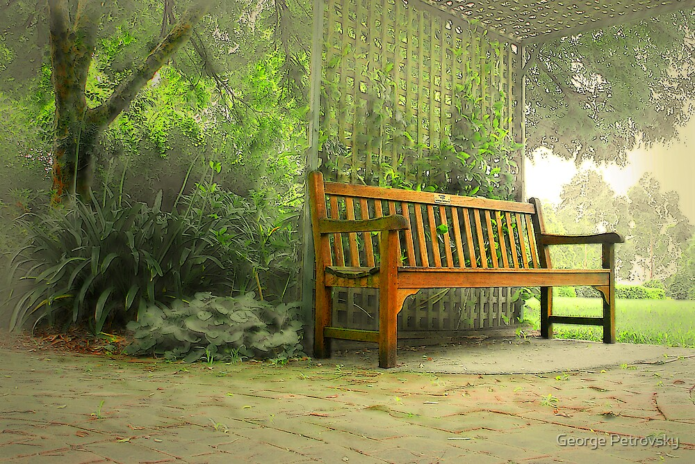 Fagan Park Bench #2 by George Petrovsky
