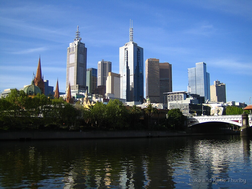 Melbourne City by Luke and Katie Thurlby