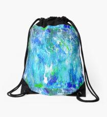 Beautiful Ocean Waves Drawstring Bag