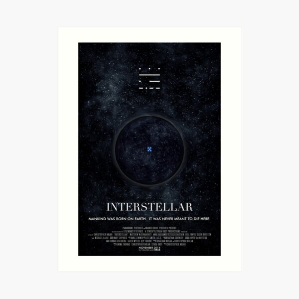 Interstellar Art Prints Redbubble