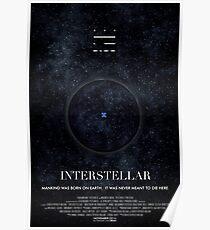 Interstellar - Wurmloch-Plakat Poster