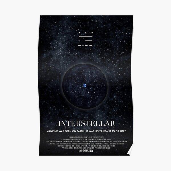 Interstellar - Poster Wormhole Poster
