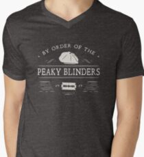 BY ORDER OF THE PEAKY BLINDERS Men's V-Neck T-Shirt