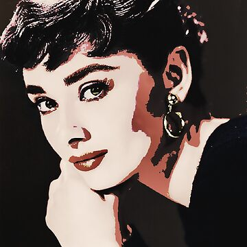 Audrey Hepburn - Poster style by PatSeg