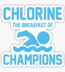 Chlorine for Breakfast Sticker