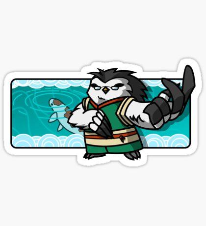 Bird Fighter - Rei Long Sticker