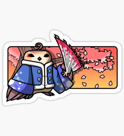 Bird Fighter - Fun Lee Sticker