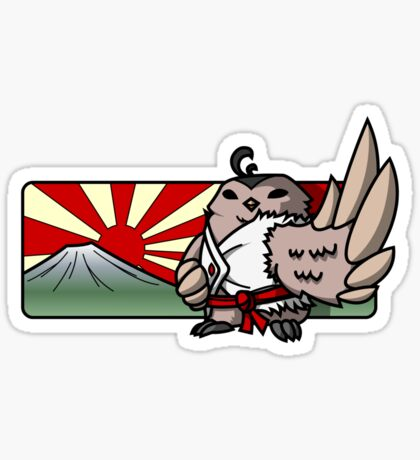 Bird Fighter - Lyu Sticker