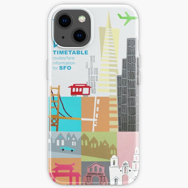 BOAC to San Francisco iPhone Soft Case