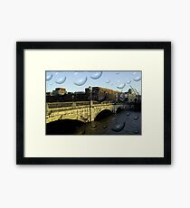 Irish city, Cork, Ireland Framed Print