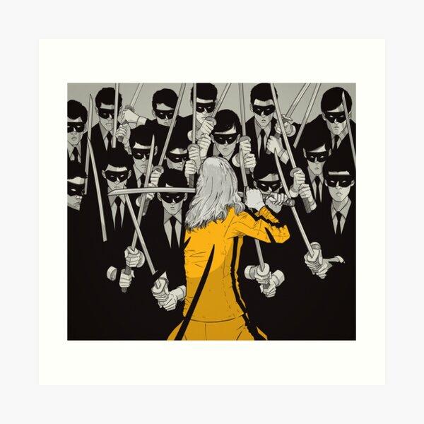 Kill Bill Concept Art Art Print