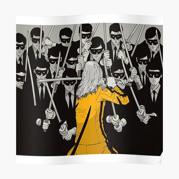 Kill Bill Concept Art Poster