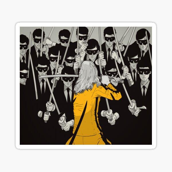 Kill Bill Concept Art Sticker