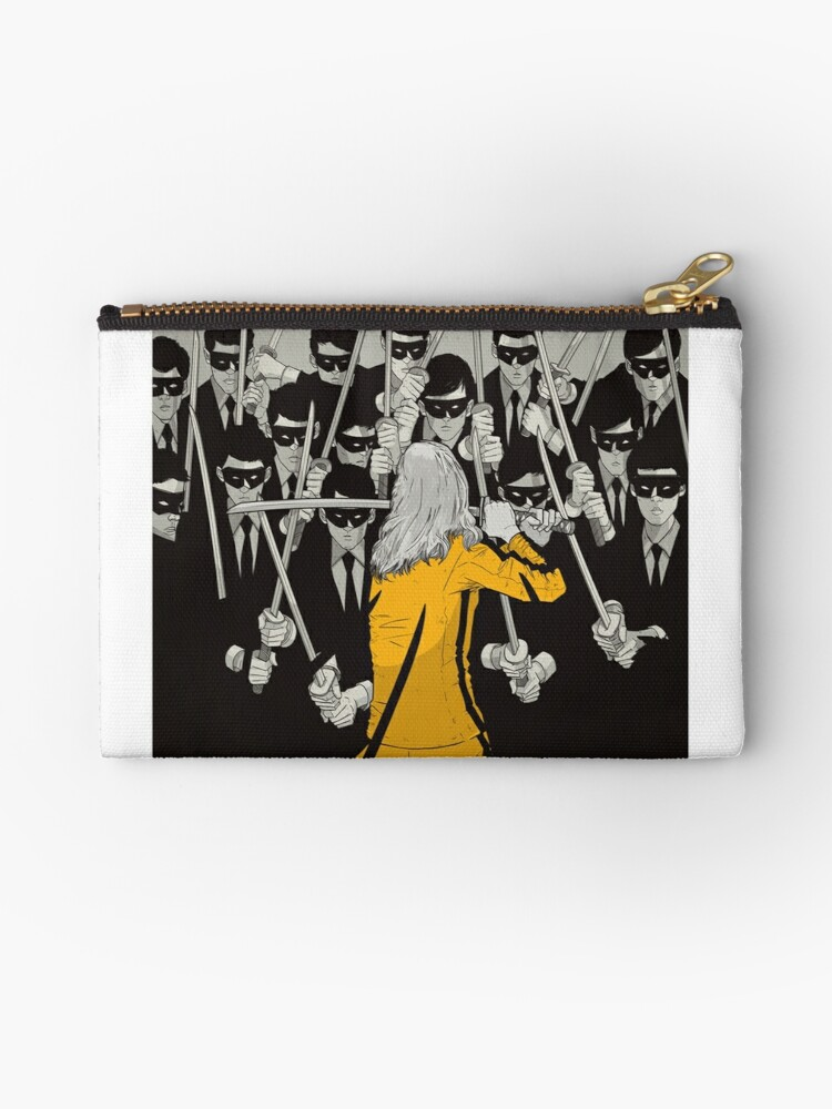 KILLING IT hand painted zipper pouch