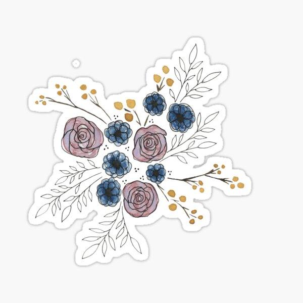 Spring Florals  Sticker