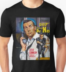 James Bond Sean Connery painting Unisex T-Shirt