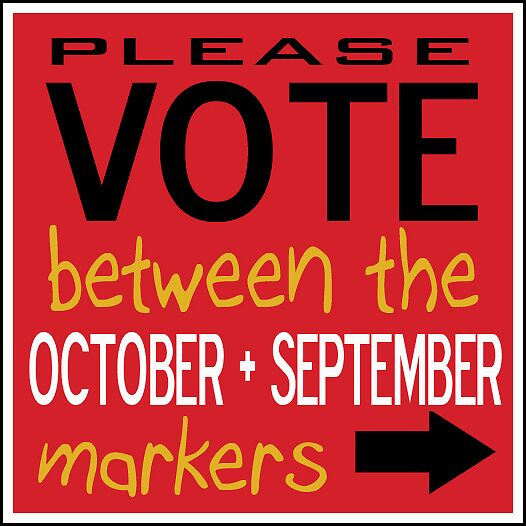 Please vote between OCTOBER AND September by Natural  Developments