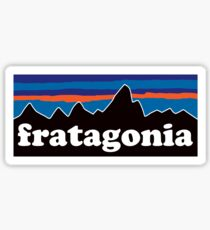 Funny Fratagonia Southern SEC Fraternity Shirt  Sticker