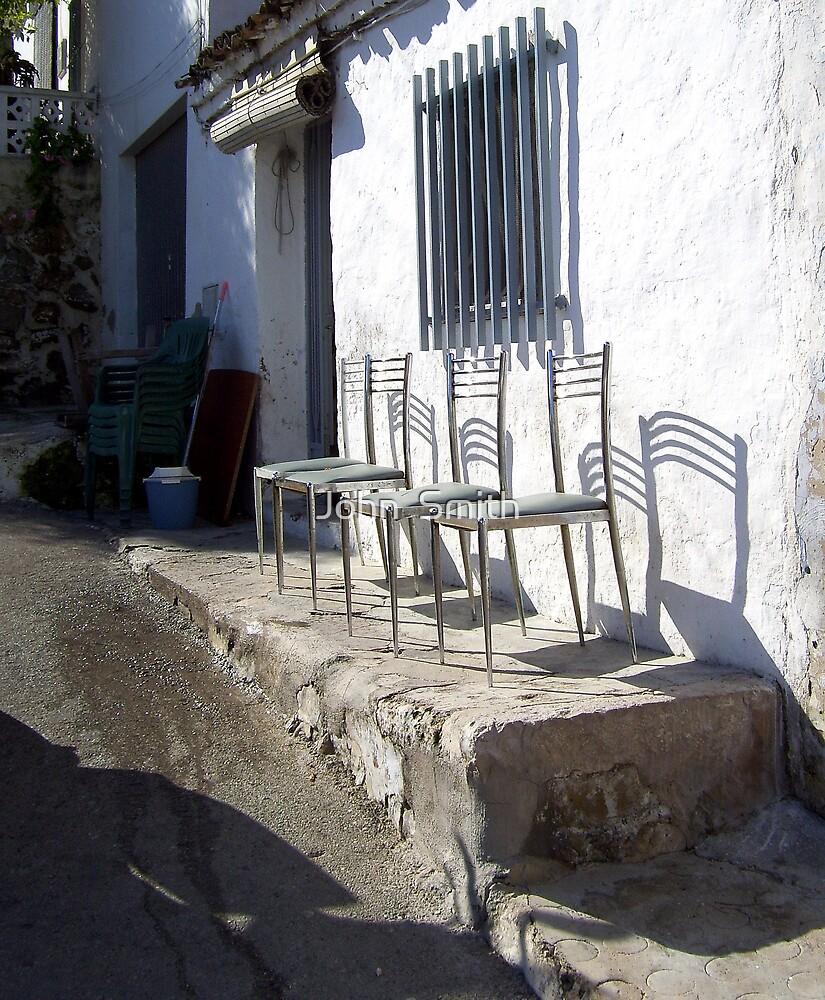 """Spanish chairs."" (1) by John  Smith"