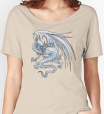 Old Style Blue-Eyes White Dragon  Women's Relaxed Fit T-Shirt