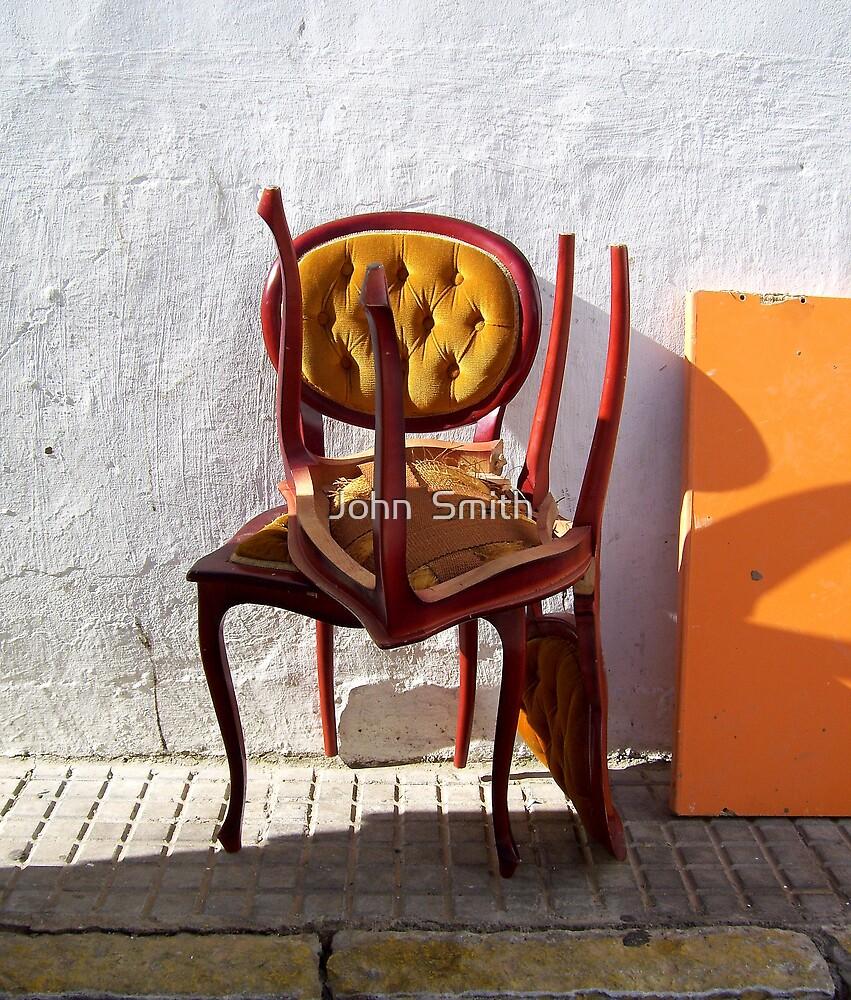 """Spanish Chairs."" (2) by John  Smith"
