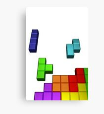 Tetris Cover Recreated Canvas Print