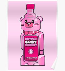 Cotton Candy Brandy Tshirt Poster