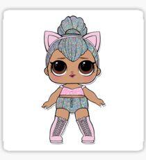 L.O.L Surprise - Kitty Queen Sticker