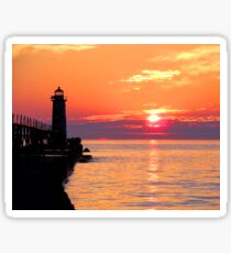 Manistee Lighthouse Sticker