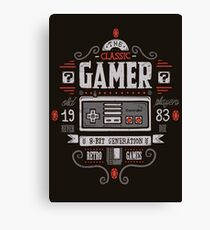 GAMER CLASSIC Canvas Print