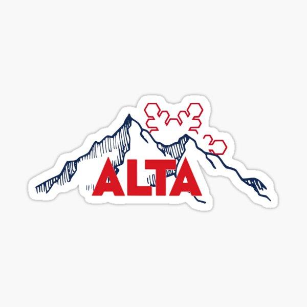 Alta Ski Resort in Utah Sticker