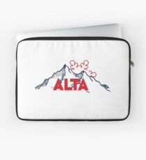 Alta Ski Resort in Utah Laptop Sleeve