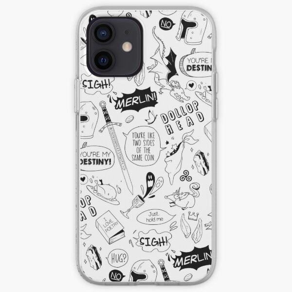 Merthur Pattern_Merlin iPhone Soft Case