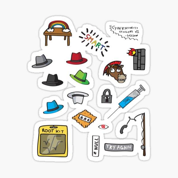Cybersecurity Sticker Sheet v1 Sticker
