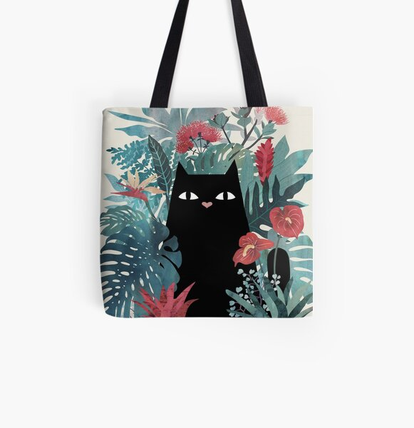 Popoki All Over Print Tote Bag