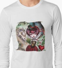 Dragon Lady - Victorian Gothic Long Sleeve T-Shirt