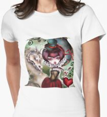 Dragon Lady - Victorian Gothic Women's Fitted T-Shirt