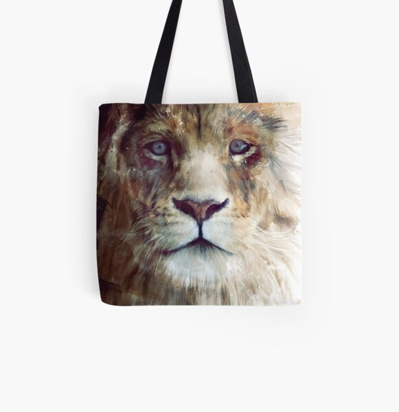 Lion // Majesty All Over Print Tote Bag