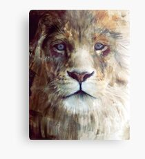 Lion // Majesty Metal Print