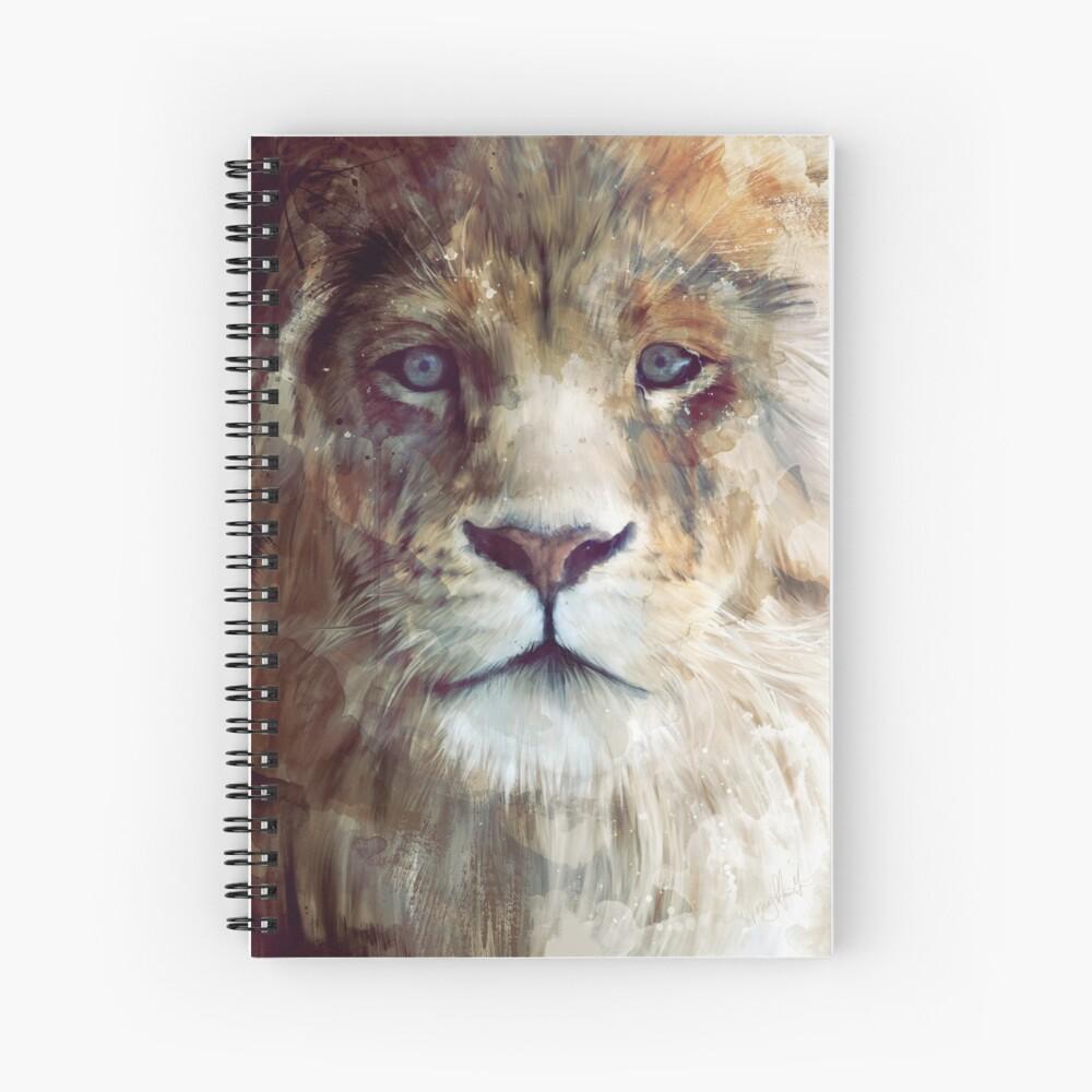 Lion // Majesty Spiral Notebook