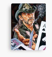 Lemmy Kilmister painting Canvas Print
